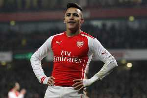 Alexis Sánchez (Chile – Arsenal)