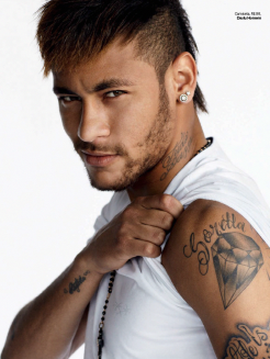 tattoo NEYMAR 2014