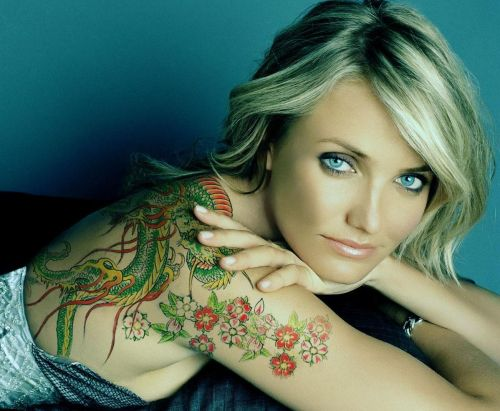 Cameron-Diaz-Tattoos
