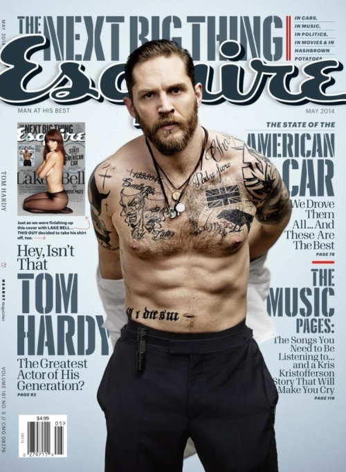 Tom Hardy Covers
