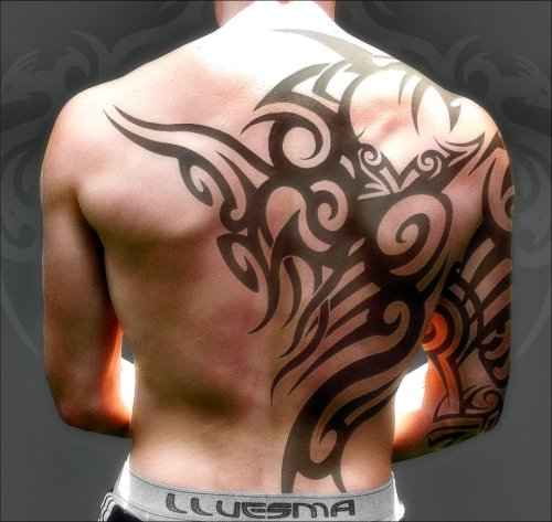 tribal_tattoo_newalencia by jlluesma3