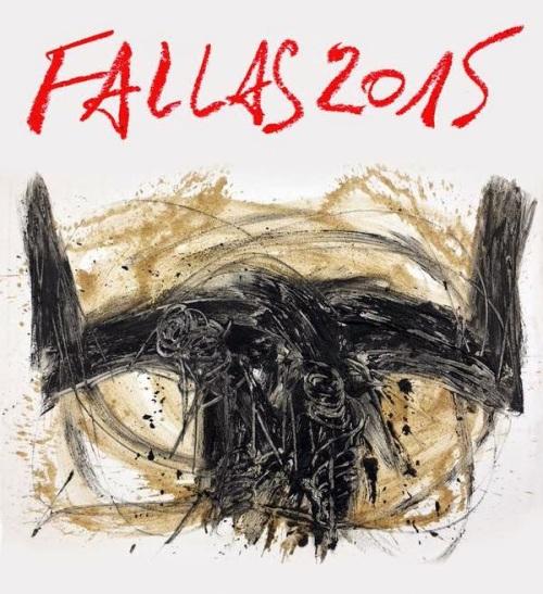 cartel toros fallas de Valencia 2015  jordi Pallares
