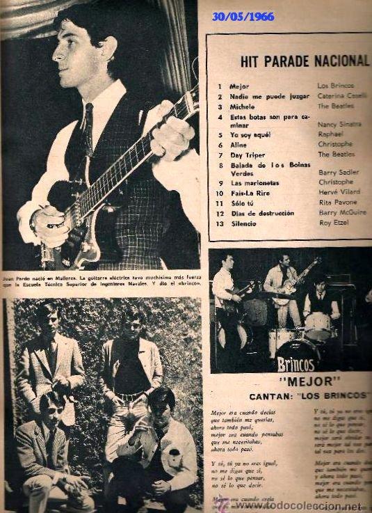 HIT_PARADE_NACIONAL_DE_CARIÑO_MAYO_1966