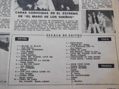 LECTURAS 5 Diciembre 1966