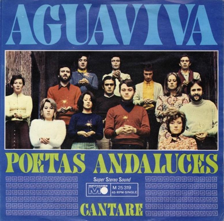 Aguaviva Poetas Andaluces Cantare