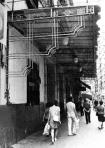 Fachada del desaparecido Teatro Ruzafa de Valencia