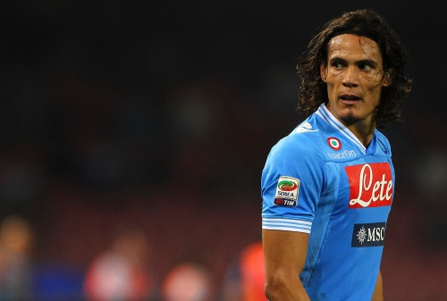 SSC Napoli v Udinese Calcio - Serie A CAVANI