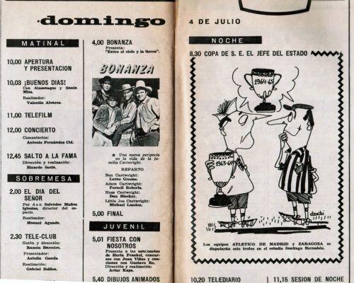 Bonanza y Copa de S.E. EL JEFE DEL ESTADO