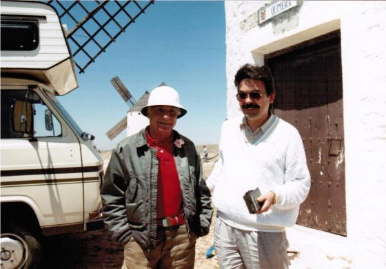 Mario Monicelli entrevistado por Nicolás Ramos Pintado para Radio Luz (RR)