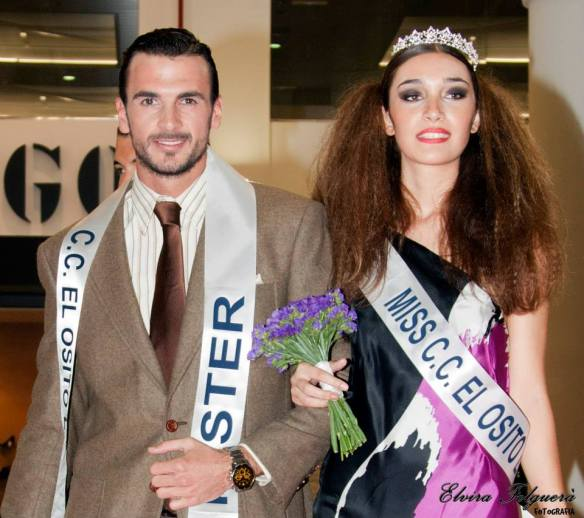 Daniel Tarazaga Carretero y Laia León Zaragozá gana el titulo de Miss & Mr. CC El Osito la Eliana 2013