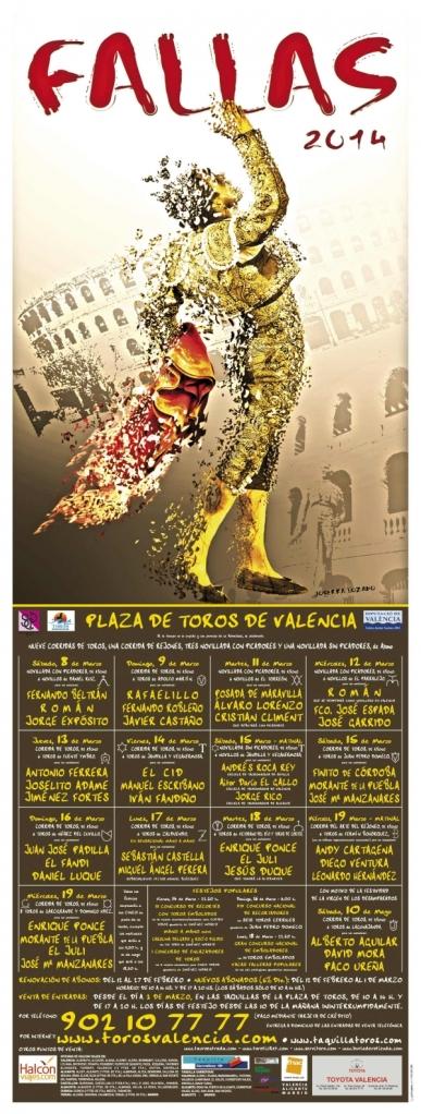Plaza_de-Toros_de_Valencia-Cartel_de_fallas_2014