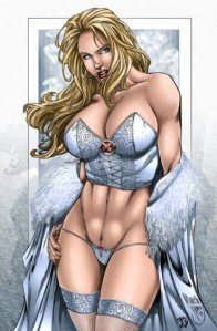 Emma Frost Reina Blanca