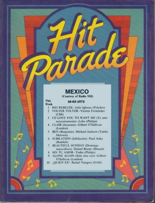 hit parade Mexico 1973