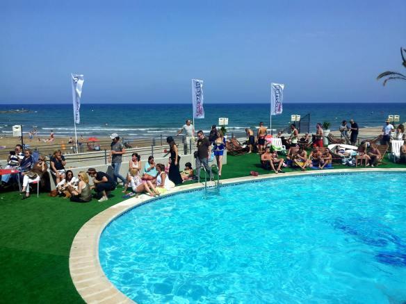 hossegor pool miss valencia