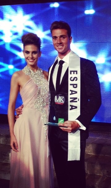 david roca y jose de haro 1º y 2º clasificado en Mister Internationa Spain 2014 (2)