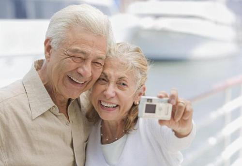 jubilados felices