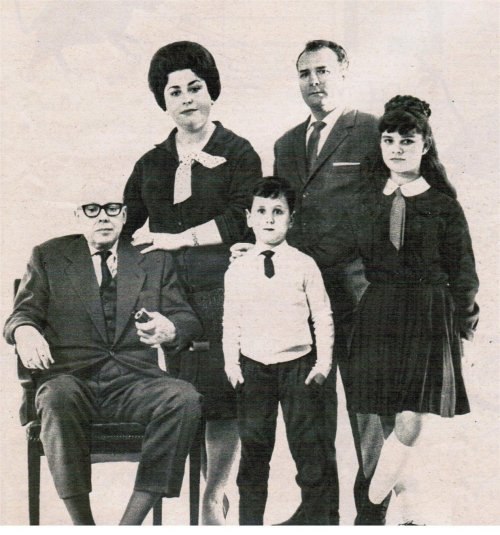 perfil de la familia media en España en 1965