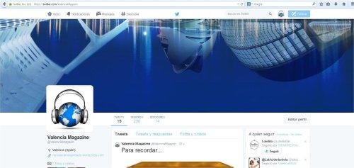 valencia magazine en twitter