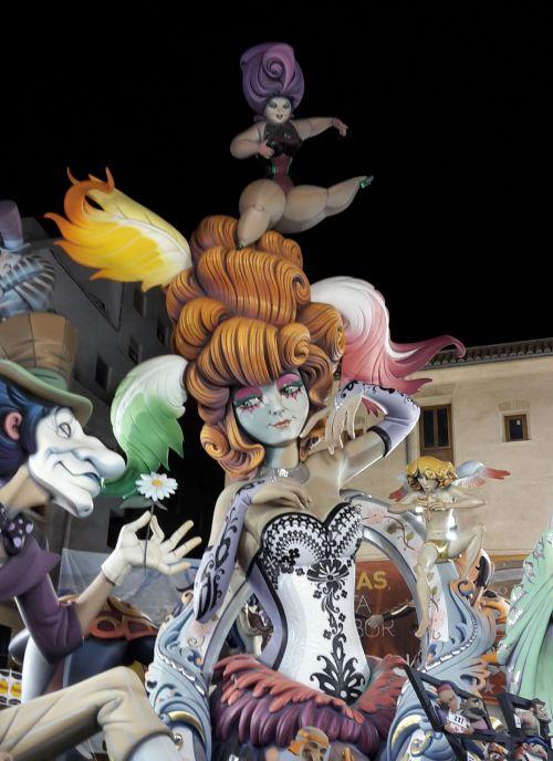 Fallas de Valencia 2015 1º Premio Sección Especial Pantomima, Comisión Plaza del Pilar