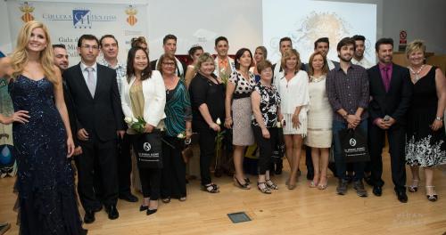 foto final con ganadores y jurado