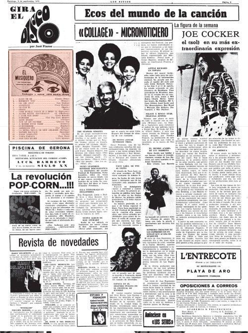 el musiquero septiembre 1972