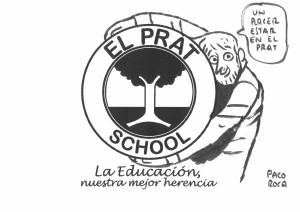 El dibujante valenciano Paco Roca y su clase magistral para el alumnado de Colegio El Prat. (6)