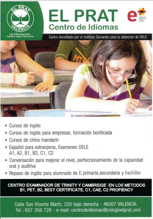 nuevo centro de idiomas el prat en valencia