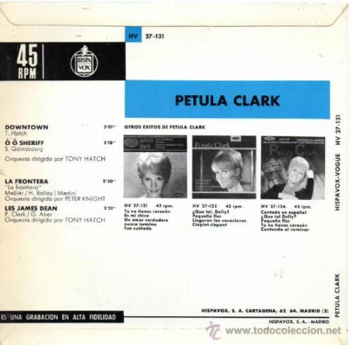 Downtown petula clark 1965