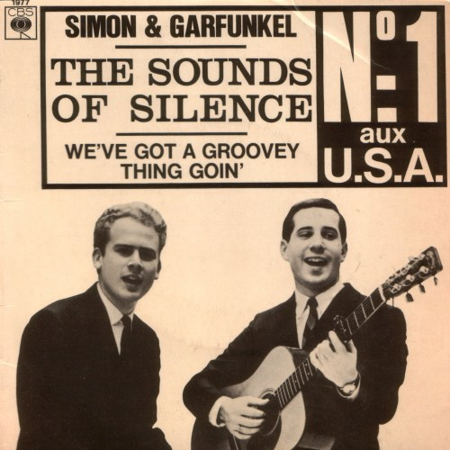 the sounds of silence los sonidos del silencio simon & garfunkel 1965