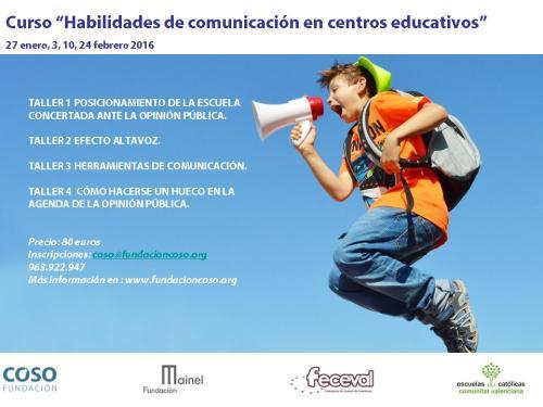 Curso Habilidades de comunicación en centros educativos