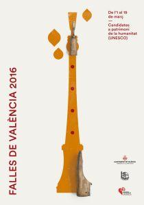 El fuego, la música, el humor y el protagonismo de la mujer son los cuatro temas a los que hacen referencia los nuevos carteles para de Valencia de 2016. (3)