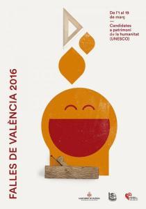 El fuego, la música, el humor y el protagonismo de la mujer son los cuatro temas a los que hacen referencia los nuevos carteles para de Valencia de 2016. (4)