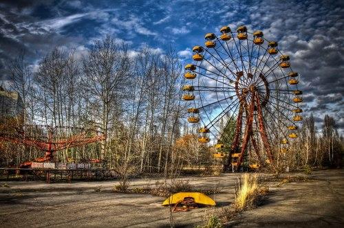 lugares terrorifico Pripyat, Ukraine