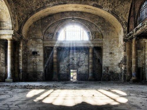 lugares terrorificos Estación Central de Michigan. Detroit, EEUU. (2)