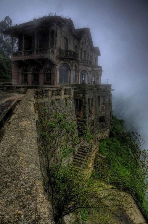 lugares terrorificos Hotel El Salto, Colombia2016