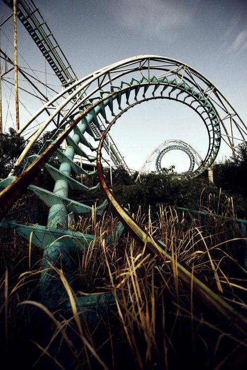 lugares terrorificos Nara Dreamland, Japan