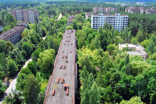 Pripyat, Ukraine lugares terrorifico