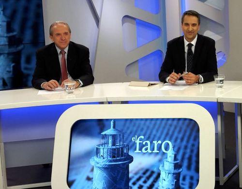 José Manuel Boquet, Presidente de FECEVAL y Germà Arroyo, Director de El Faro