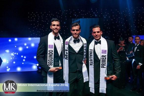 Dos canarios y un valenciano acaparan los galardones en Míster España Internacional 2016