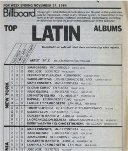 juan gabriel hot latin billboard