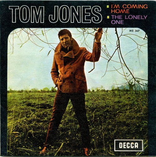 "Caratula del single ""Vuelvo a casa"" de Tom Jones en España."